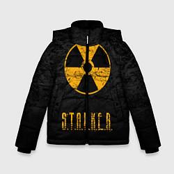Куртка зимняя для мальчика STALKER: Radioactive цвета 3D-черный — фото 1