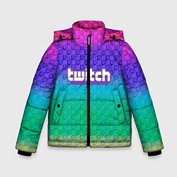 Куртка зимняя для мальчика Rainbow Twitch - фото 1