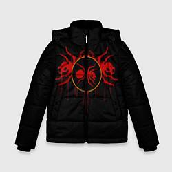 Куртка зимняя для мальчика The Prodigy: Red Ants цвета 3D-черный — фото 1