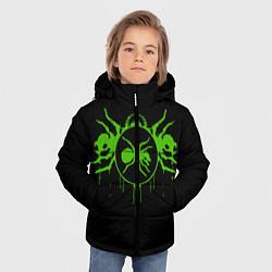 Куртка зимняя для мальчика The Prodigy: Acid Ants цвета 3D-черный — фото 2