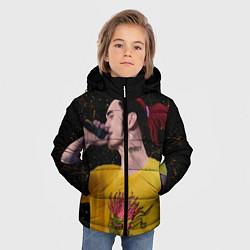 Куртка зимняя для мальчика Gone Fludd art 3 цвета 3D-черный — фото 2