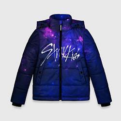 Детская зимняя куртка для мальчика с принтом Stray Kids, цвет: 3D-черный, артикул: 10176228706063 — фото 1