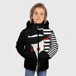 Детская зимняя куртка для мальчика с принтом Fashion, цвет: 3D-черный, артикул: 10180623106063 — фото 2