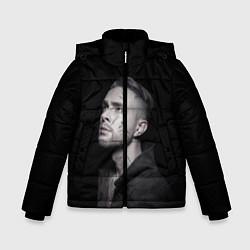 Куртка зимняя для мальчика Егор Крид: Цвет настроения чёрный цвета 3D-черный — фото 1