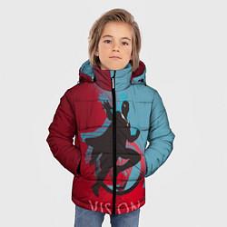 Куртка зимняя для мальчика Vision Duo цвета 3D-черный — фото 2