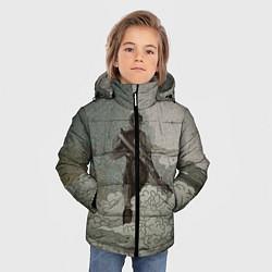 Куртка зимняя для мальчика Death Trooper цвета 3D-черный — фото 2