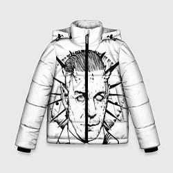 Куртка зимняя для мальчика Rammstein цвета 3D-черный — фото 1