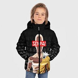 Куртка зимняя для мальчика SENPAI ONE PUNCH MAN цвета 3D-черный — фото 2