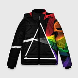 Куртка зимняя для мальчика PINK FLOYD цвета 3D-черный — фото 1