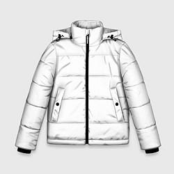 Куртка зимняя для мальчика Без дизайна цвета 3D-черный — фото 1