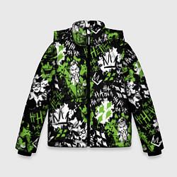 Куртка зимняя для мальчика Villains цвета 3D-черный — фото 1