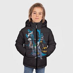 Куртка зимняя для мальчика Batman classic цвета 3D-черный — фото 2