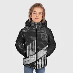 Куртка зимняя для мальчика Trea Sure Ateez цвета 3D-черный — фото 2