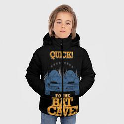 Куртка зимняя для мальчика To The Bat Cave! цвета 3D-черный — фото 2