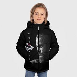 Куртка зимняя для мальчика Vikings цвета 3D-черный — фото 2