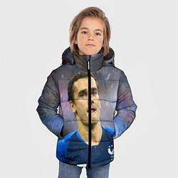 Куртка зимняя для мальчика Антуан Гризманн цвета 3D-черный — фото 2