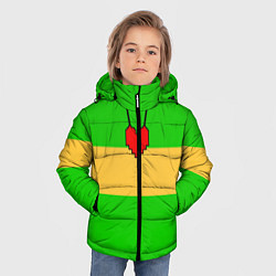 Куртка зимняя для мальчика ЧАРА CHARA цвета 3D-черный — фото 2
