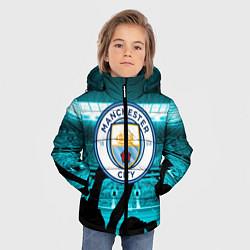 Куртка зимняя для мальчика Manchester City цвета 3D-черный — фото 2