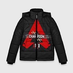 Куртка зимняя для мальчика Apex Legends Champion цвета 3D-черный — фото 1