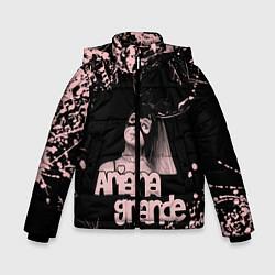 Куртка зимняя для мальчика ARIANA GRANDE цвета 3D-черный — фото 1
