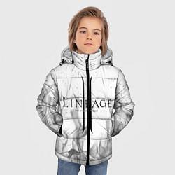 Детская зимняя куртка для мальчика с принтом LINEAGE 2, цвет: 3D-черный, артикул: 10202648906063 — фото 2