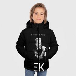 Куртка зимняя для мальчика Егор Крид, цвета 3D-черный — фото 2