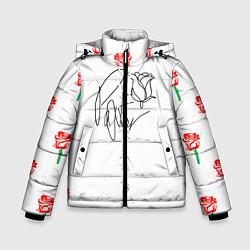 Куртка зимняя для мальчика ТИКТОКЕР - PAYTON MOORMEIE цвета 3D-черный — фото 1