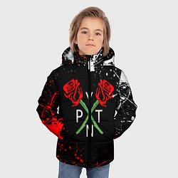 Куртка зимняя для мальчика Payton Moormeier цвета 3D-черный — фото 2