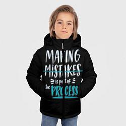 Куртка зимняя для мальчика Ошибки - часть прогресса - фото 2