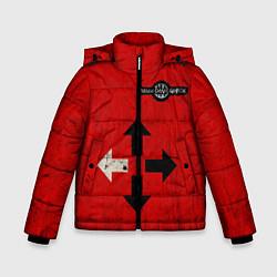 Куртка зимняя для мальчика THREE DAYS GRACE RED цвета 3D-черный — фото 1