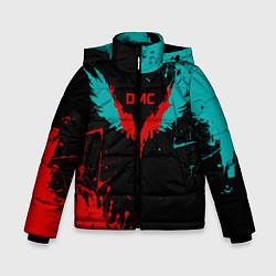 Куртка зимняя для мальчика DMC цвета 3D-черный — фото 1