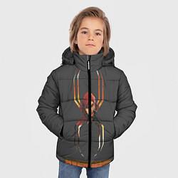 Куртка зимняя для мальчика BLACK WIDOW цвета 3D-черный — фото 2