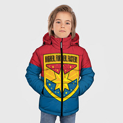 Куртка зимняя для мальчика Higher, Further, Faster - фото 2