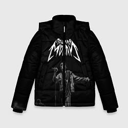 Куртка зимняя для мальчика ПОШЛАЯ МОЛЛИ цвета 3D-черный — фото 1
