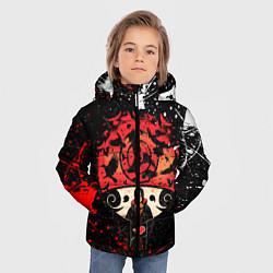 Куртка зимняя для мальчика НАРУТО цвета 3D-черный — фото 2