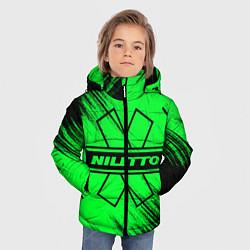 Детская зимняя куртка для мальчика с принтом NILETTO, цвет: 3D-черный, артикул: 10210975106063 — фото 2
