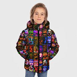 Куртка зимняя для мальчика Five Nights At Freddy's цвета 3D-черный — фото 2
