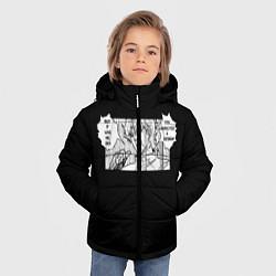 Куртка зимняя для мальчика Jojo Bizarre Adventure, Dio цвета 3D-черный — фото 2