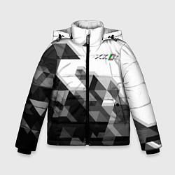 Куртка зимняя для мальчика Jaguar XKR цвета 3D-черный — фото 1