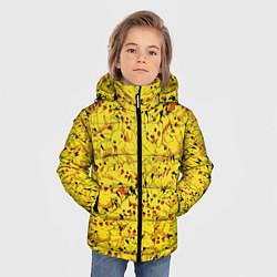 Куртка зимняя для мальчика Пикачу цвета 3D-черный — фото 2