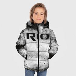 Куртка зимняя для мальчика KIA RIO цвета 3D-черный — фото 2