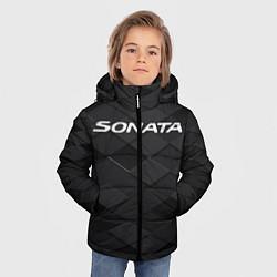 Куртка зимняя для мальчика HYUNDAI SONATA цвета 3D-черный — фото 2