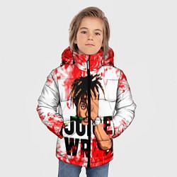 Детская зимняя куртка для мальчика с принтом Juice WRLD, цвет: 3D-черный, артикул: 10212959906063 — фото 2