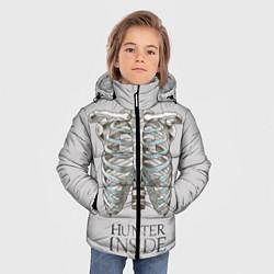 Куртка зимняя для мальчика Supernatural Hunter Inside цвета 3D-черный — фото 2