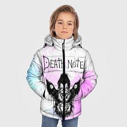 Куртка зимняя для мальчика Тетрадь смерти цвета 3D-черный — фото 2
