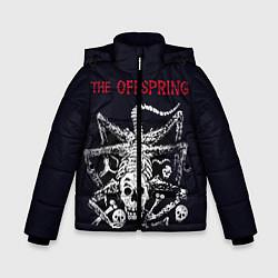 Куртка зимняя для мальчика Offspring цвета 3D-черный — фото 1
