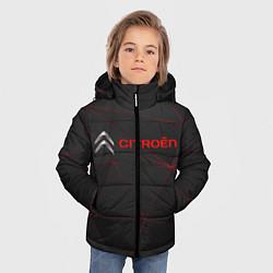 Куртка зимняя для мальчика CITROЁN цвета 3D-черный — фото 2