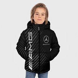 Куртка зимняя для мальчика MERCEDES цвета 3D-черный — фото 2