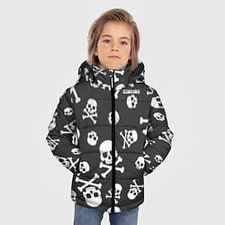 Детская зимняя куртка для мальчика с принтом Scorpions, цвет: 3D-черный, артикул: 10220591306063 — фото 2