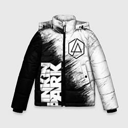 Куртка зимняя для мальчика LINKIN PARK 3 цвета 3D-черный — фото 1